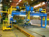 Welding gantry