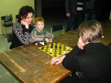 the checkers tournament