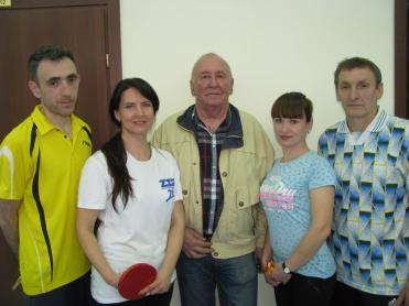 Competitions in table tennis held at ZTR