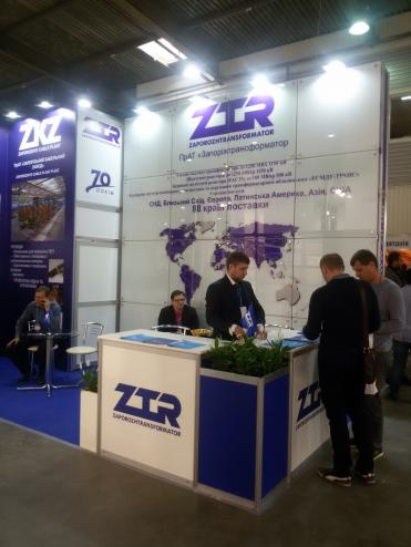 ZTR  traditionally took part in ElcomUkraine 2018 exhibition
